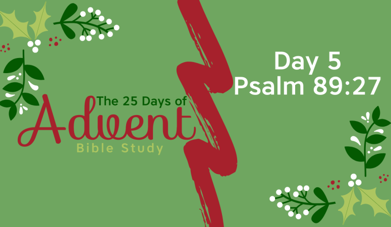 25 Days of Advent Bible Study Series {Day 5}