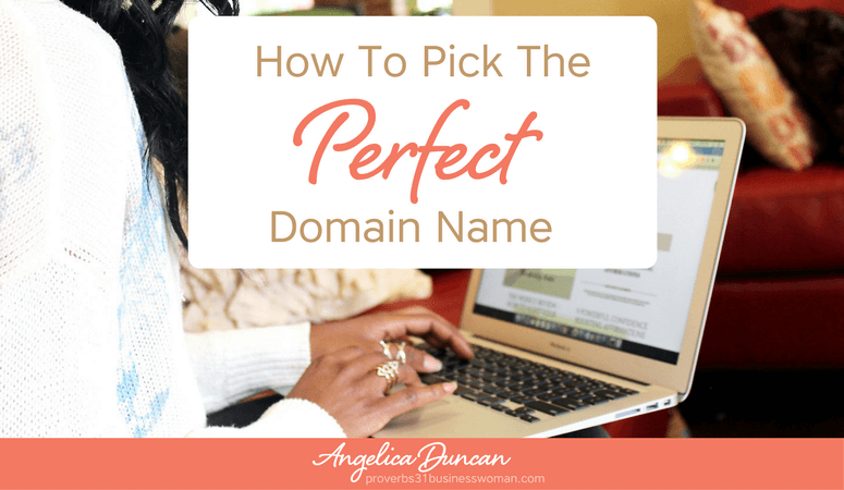 How To Pick The Perfect Domain Name For Your Blog {Video Training} | The Fail-Proof Beginner's Guide To Starting A Blog