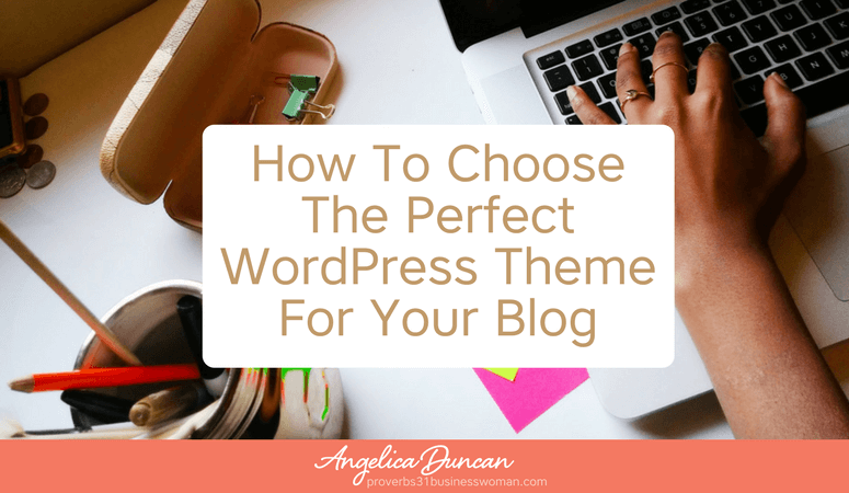A premium WordPress theme will make all the difference blog's first impression. I'm going to show you how to choose the perfect WordPress theme for your blog. Then we'll walk through step-by-step how to install the best, easiest to customize WordPress theme like a pro!