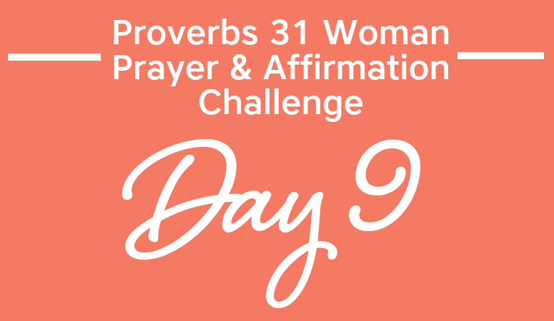 proverbs 31 woman prayer & affirmation challenge | prayer cards | scripture cards | affirmation cards | confession cards
