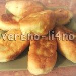 Пирожки с начинкой из картошки из быстрого дрожжевого теста