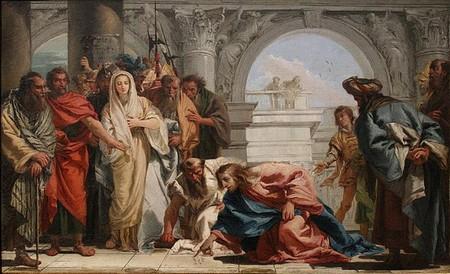 La règle de Jésus face à l'adultère