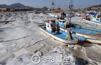 凍り付いた韓半島