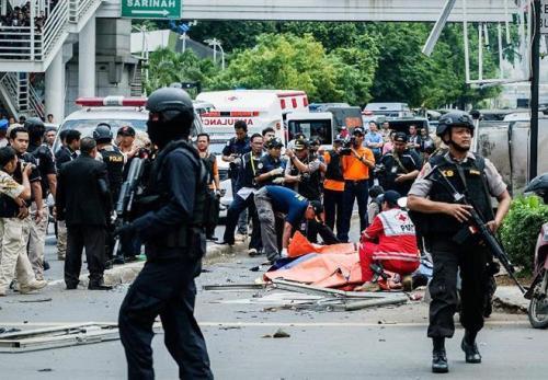 ジャカルタ-イスラム国によるテロ