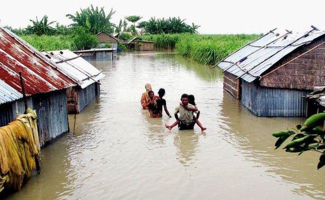 バングラディシュ 洪水 水害