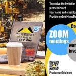 Providence Gold Announces Zoom Meeting with Investors, March 10th at 10:30am PST