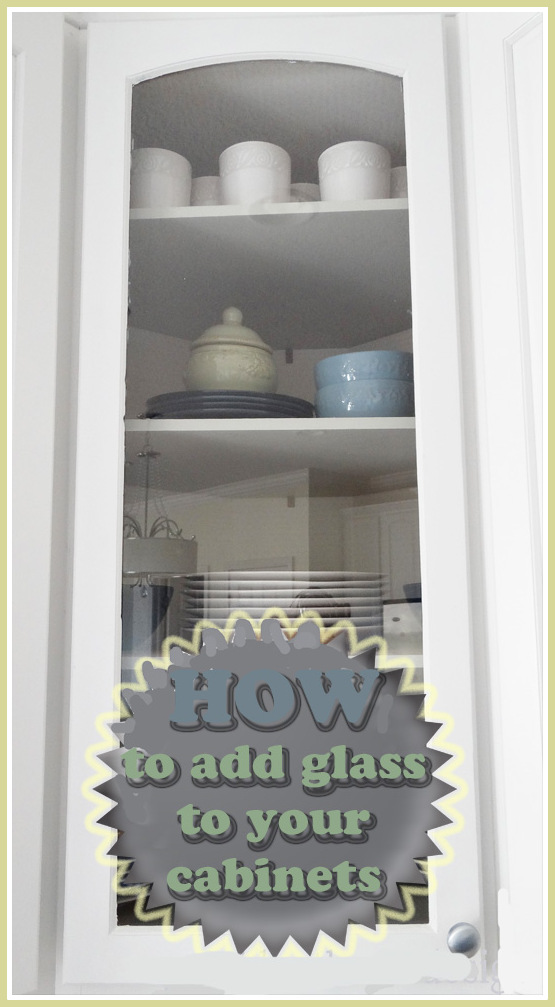How To Put Glass In Cabinet Doors