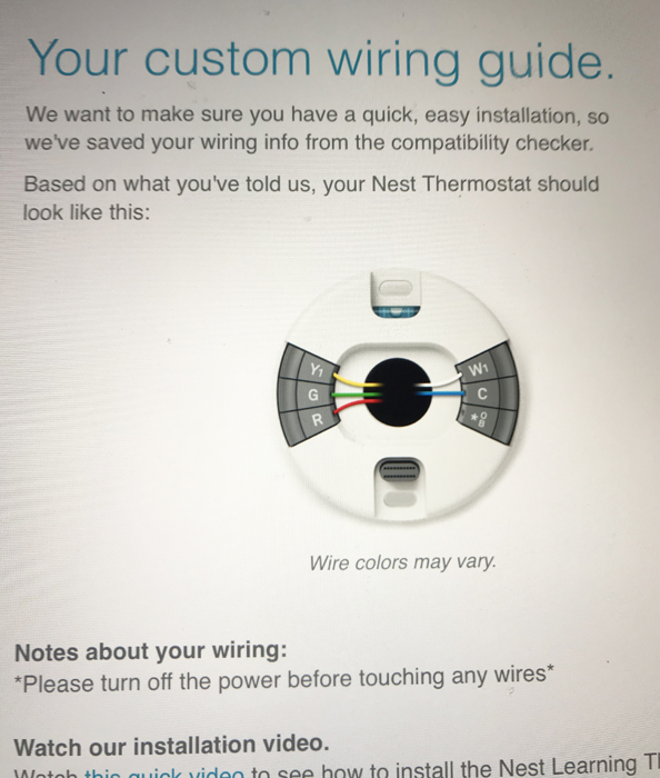 Wiring Multiple Nest Thermostats
