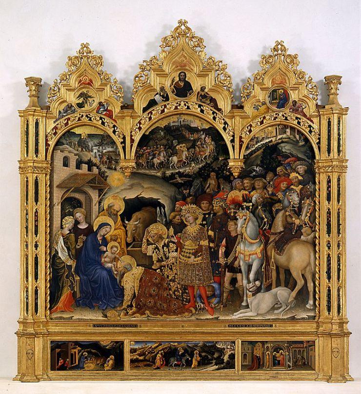 Gentile da Fabriano. Adoration des Mages