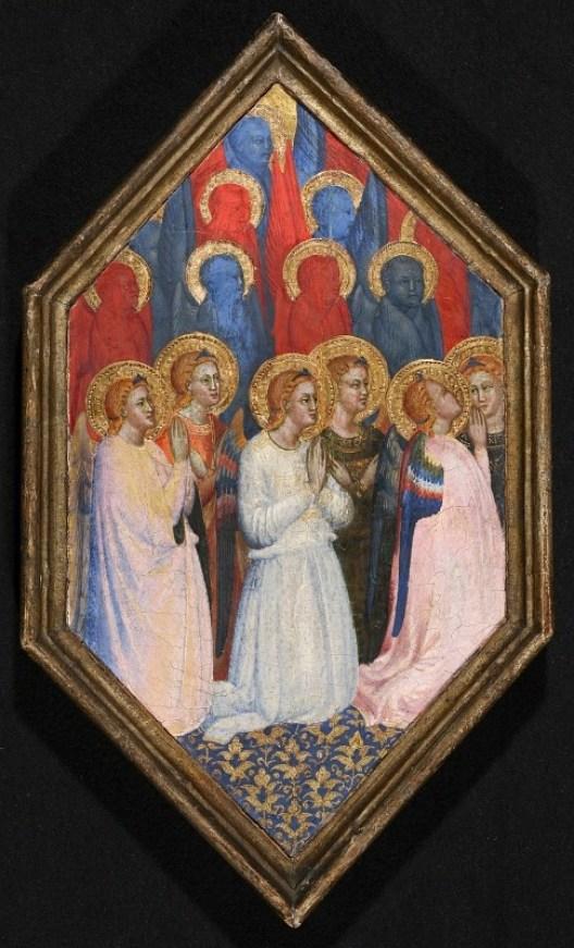 Matteo di Pacino, Séraphins et Chérubins, Gemäldegalerie