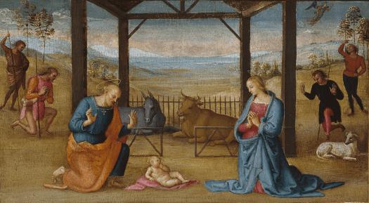 Perugino. Nativité.png