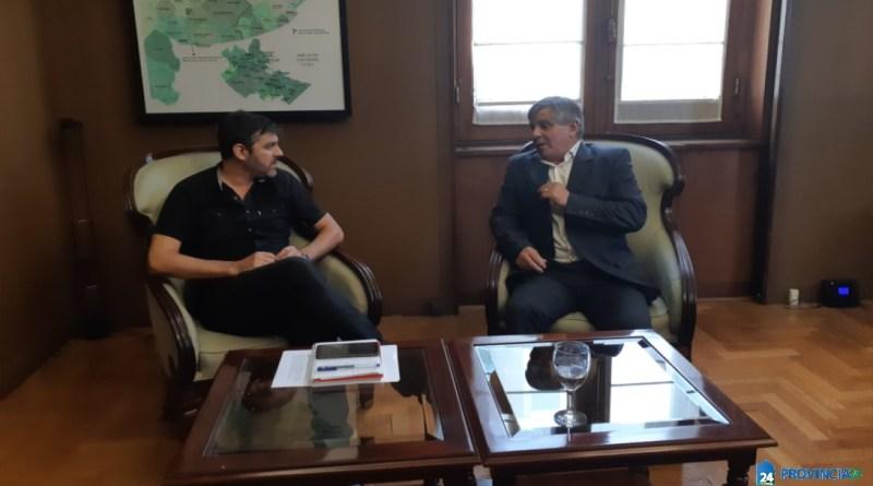 Gestos de Kicillof para el intendente de Chivilcoy Guillermo Britos
