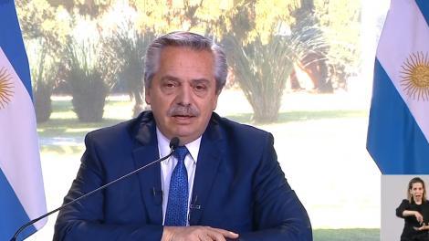 Alberto Fernández presenta el Plan Nacional de Conectividad