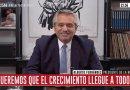 Alberto Fernández: «Es increíble que un medio ponga los lugares para ir a manifestar y la dirección de la vicepresidenta»