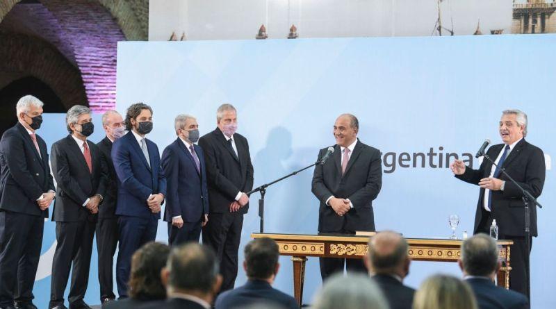 Asumieron  los nuevos ministros del gabinete nacional
