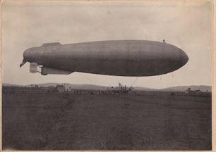 M6 in fase di collaudo a campi Bisenzio- 1916- archivio Osti