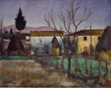 la casa del Berna vista da Nord