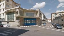 L'ingresso dei veicoli in angolo tra via Mercadante e via Vivaldi