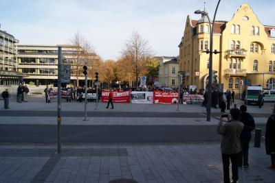 Naziaufmarsch in Coburg