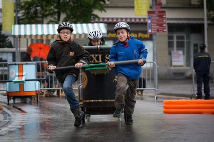 Römertag 2015: Wagenrennen