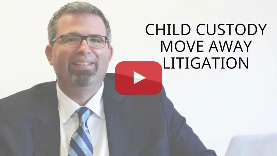 CHILD CUSTODY MOVE AWAY LITIGATION