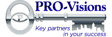 pro visions property management services company of charleston sc logo