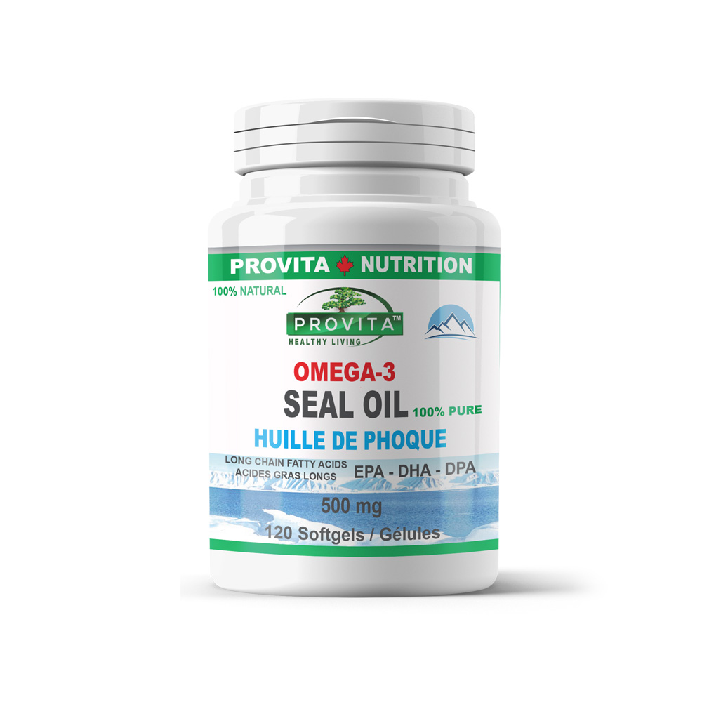 Omega 3 - Seal Oil - Provita Nutrition Canada