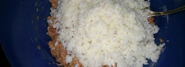 рис для фарша