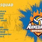 Ahmedabad Defenders Team Squad