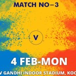 Ahmedabad Defenders vs Black Hawks Hyderabad Match 3 Live streaming