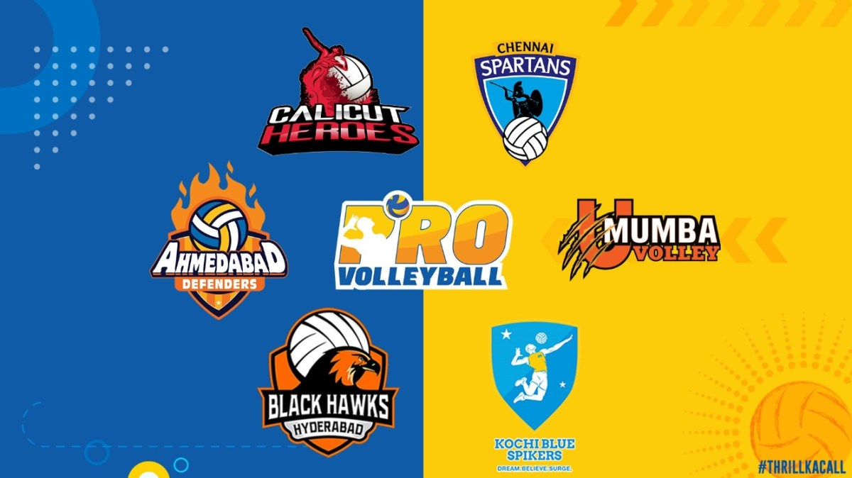 RuPay Pro Volleyball League Points Table 2019.