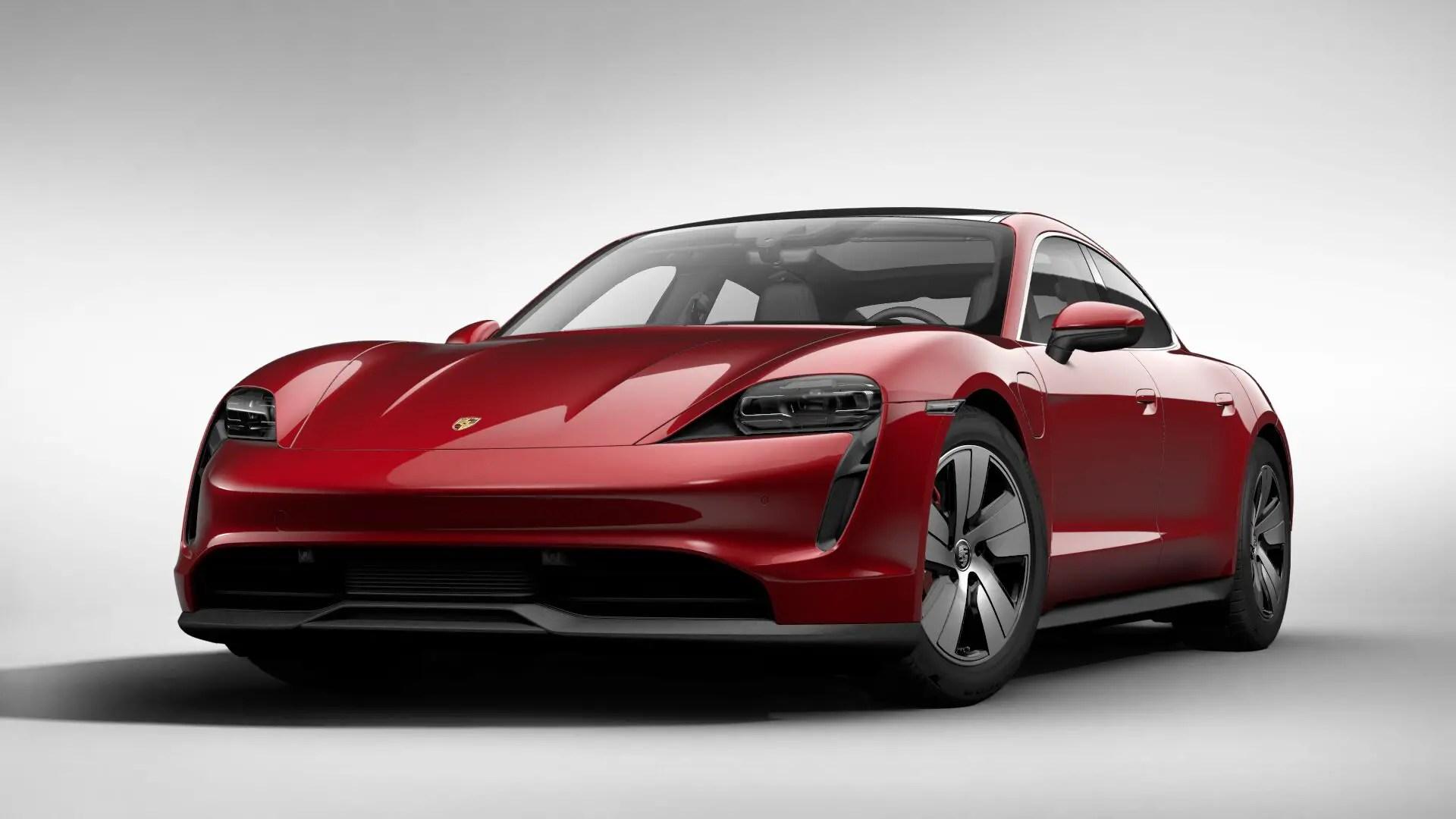 All About Porsche Taycan.