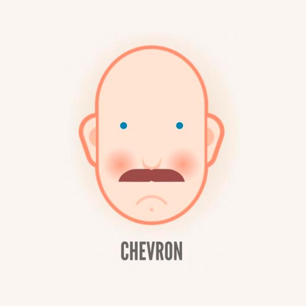 Усы шеврон (Chevron moustache)