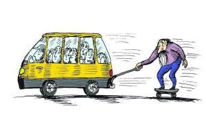 Мер Тернополя розповідає чергові казки: водіїв, які відмовились перевозити пільговиків, звільнено з роботи