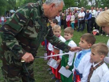 У Хоросткові відбулося військово-патріотичне спортивне свято