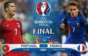 Сьогодні зіграють у фіналі Євро-2016 Франція з Португалією
