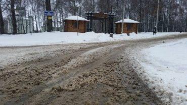 Тернопіль й далі чистять неякісно від снігу