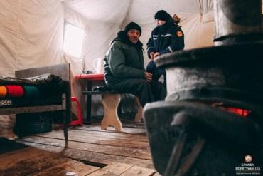 На Тернопільщині розгорнуто мобільні пункти обігріву