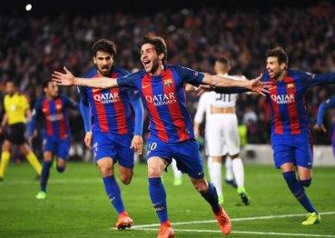 Неймовірна перемога Барселони над ПСЖ