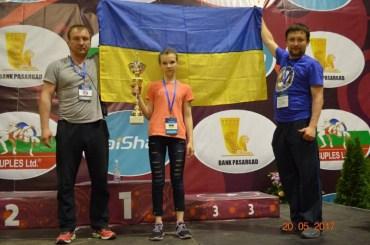 Тернополянка Вероніка Кондратенко стала бронзовою призеркою чемпіонату Європи серед школярів з жіночої боротьби