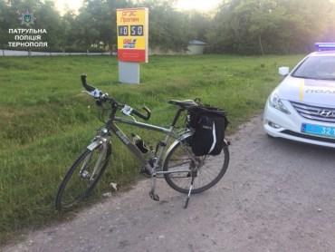 Патрульні спіймали злодія на велосипеді