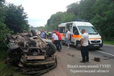 П'ятеро дітей та троє дорослих потрапили у лікарню в результаті дорожньо-транспортної пригоди у селі Підгороднє
