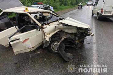 У автопригоді на Гусятинщині травми отримало троє людей