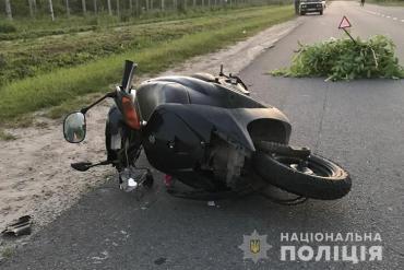 За одну добу на дорогах Тернопільщини в аварії потрапили три скутериста