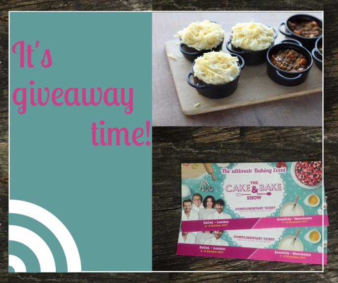 ProWare's Cake and bake giveaway