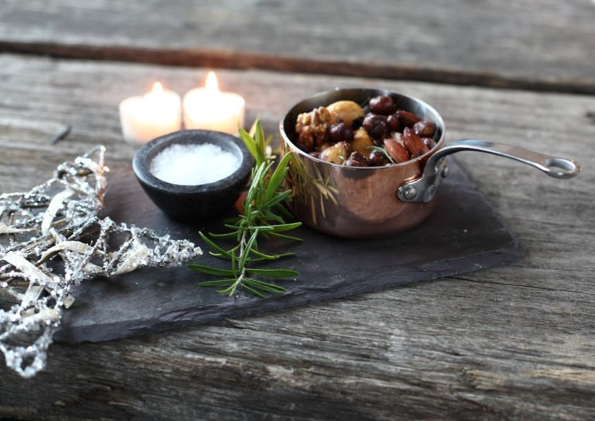 ProWare's Rosemary Roasted Nuts