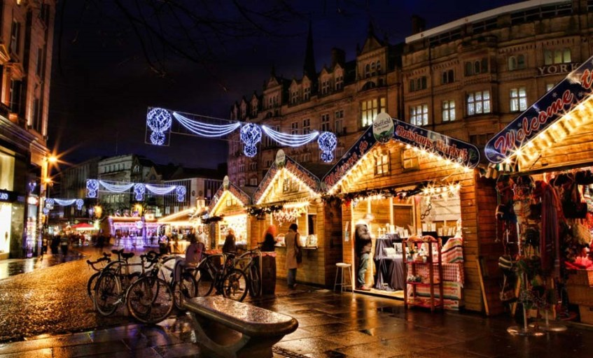 Foodie Events December - Sheffield Christmas Market