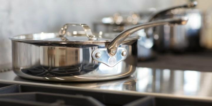 ProWare Stainless Steel Tri-Ply Sauté Pan