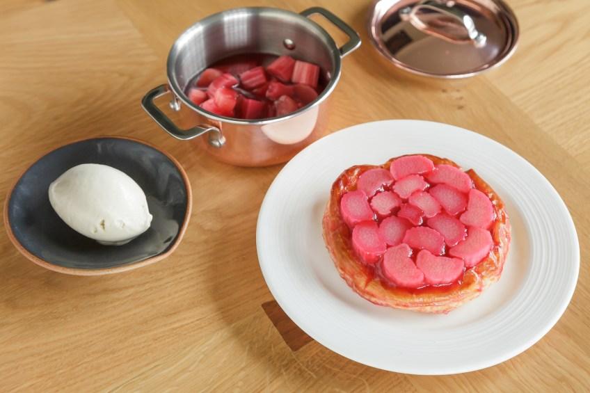 Paris House Proware Rhubarb & Custard Tart