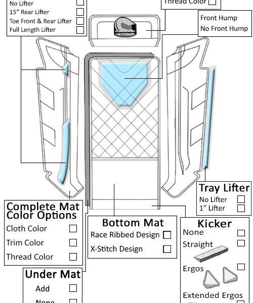 Jettrim Hydrospace S4 (6pc) Mat Kit